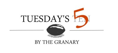 5 Tuesday