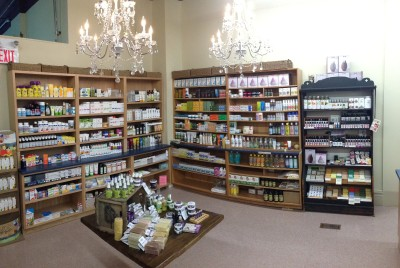 The Granary's expanded beauty care section