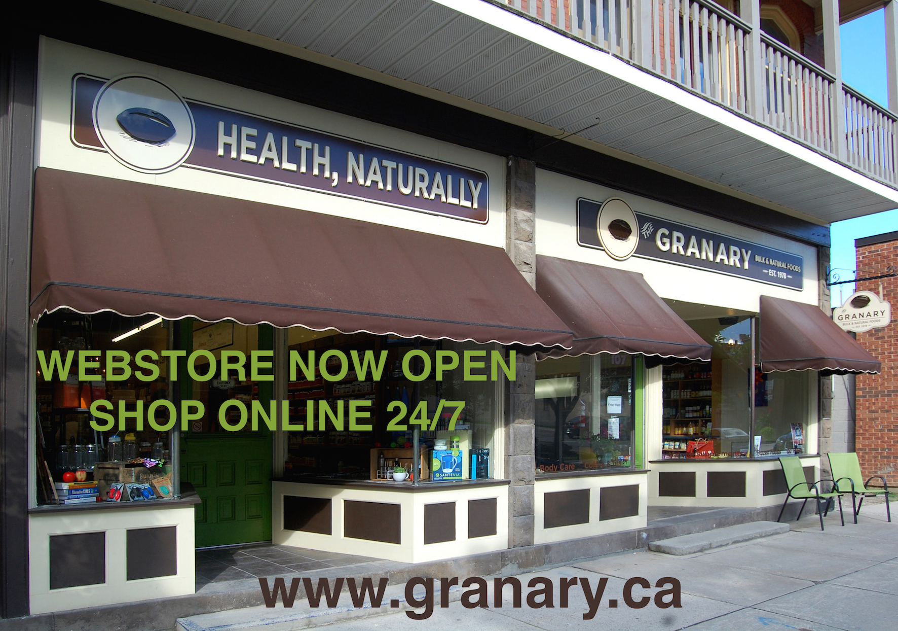 Shop Online at The Granary