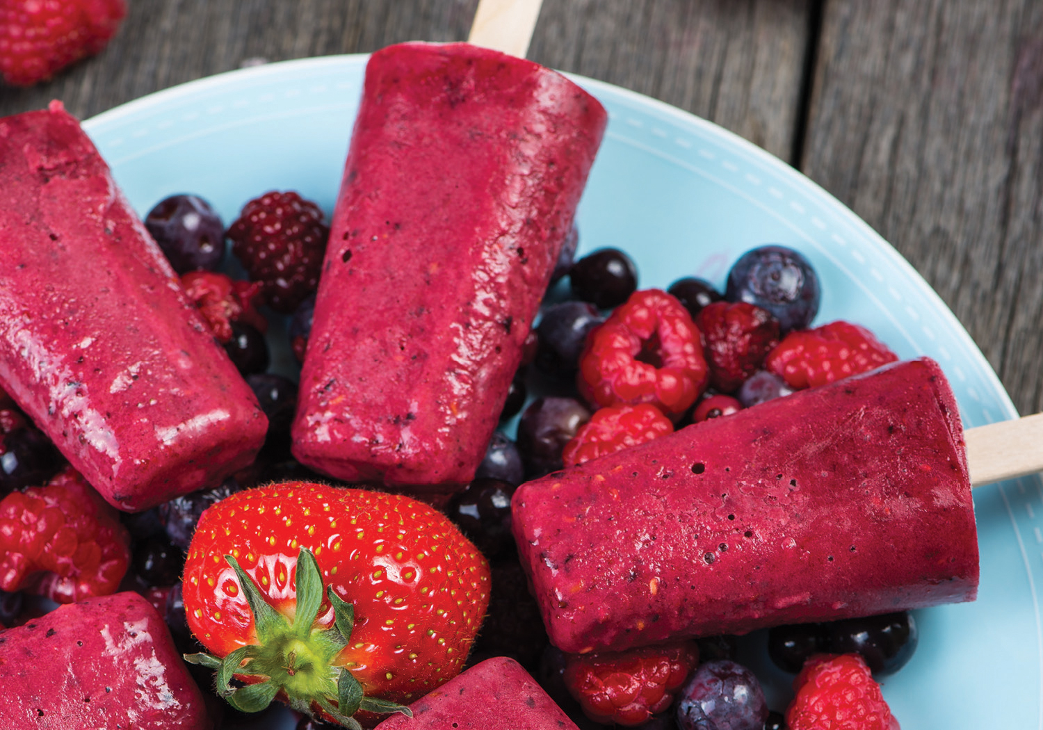 Berrylicious Popsicles with Beets