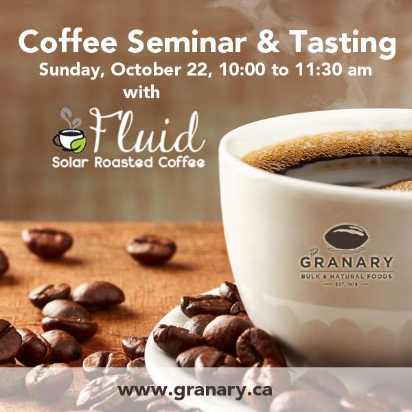 Coffee Seminar & Tasting