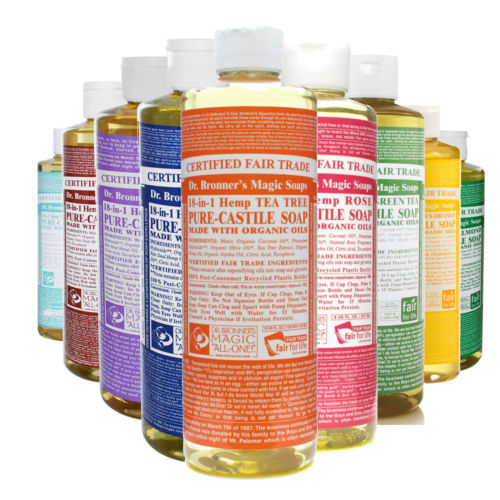 Tuesday's Ten: Ten Ways to Clean with Castile Soap