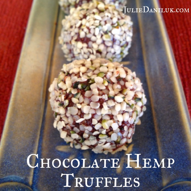 CHOCOLATE HEMP TRUFFLES